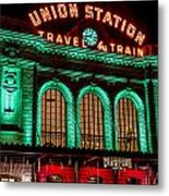 Denver's Union Station Metal Print