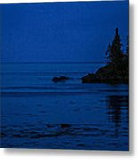 Departure Before First Light Metal Print