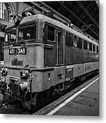 Departure From Budapest Metal Print