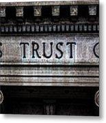Depositors Trust Company Metal Print