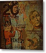 Depression In The 20th Century - 2 Metal Print