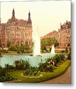 Der Deutsche Ring-cologne-the Rhine-germany -  Between 1890 And  Metal Print