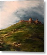 Deralict Chartley Castle Staffordshire Metal Print