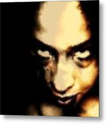 Deranged Metal Print