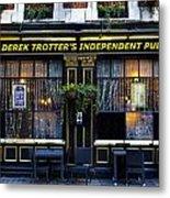 Derek Trotter's Pub Metal Print