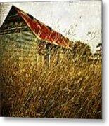 Derelict Barn Metal Print