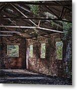 Derelict Building Metal Print
