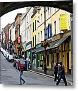 Derry Life - Irish Art By Charlie Brock Metal Print