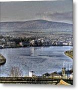 Derry View Metal Print