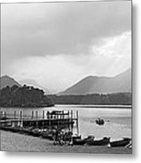 Derwent Water In The Lake District Of England Metal Print