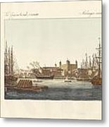 Description Of The Tower Of London Metal Print