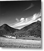 Desert Clouds Metal Print