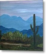 Desert Evening Metal Print