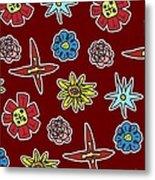 Desert Floral Metal Print