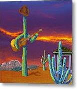 Desert Jam Metal Print