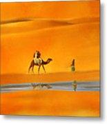 Desert Mirage Metal Print