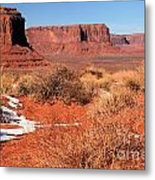 Desert Monuments Metal Print