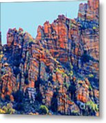 Desert Paint Metal Print