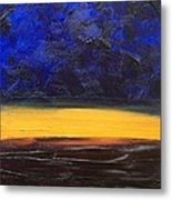 Desert Plains Metal Print
