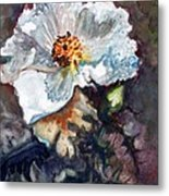 Desert Prickly Poppy Metal Print