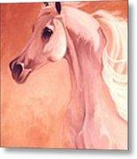 Desert Prince Arabian Stallion Metal Print