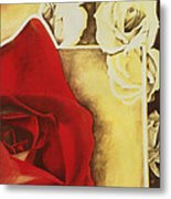 Desert Rose Metal Print
