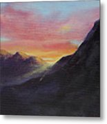 Easter Sunrise Metal Print