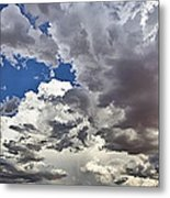 Desert Thunderstorm 1 Metal Print