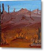 Desert View Metal Print