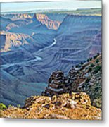 Desert View-morning Metal Print by Paul Krapf