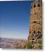 Desert Watchview Tower Grand Canyon Metal Print