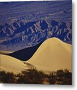 Desert Wave Metal Print