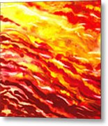 Desert Wind Abstract I Metal Print