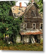 Deserted Along Time Ago Metal Print