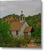 Deserted Church Metal Print