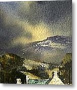 Deserted Farm West Cork Metal Print by Roland Byrne