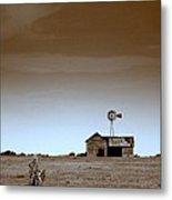 Deserted Farmhouse Metal Print