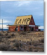 Deserted Ground Metal Print