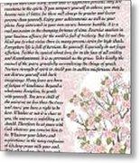 Desiderta Poem On Cherry Blossom Metal Print