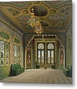 Design For A Reception Room Metal Print