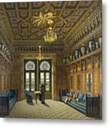 Design For The Grand Reception Room Metal Print