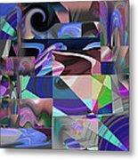 Design Square 33 Metal Print