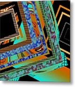 Design Texture And Color Metal Print by Mario Perez