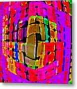Designer Phone Case Art Colorful Rich Bold Abstracts Cell Phone Covers Carole Spandau Cbs Art 138 Metal Print