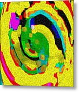 Designer Phone Case Art Colorful Rich Bold Abstracts Cell Phone Covers Carole Spandau Cbs Art 139  Metal Print by Carole Spandau