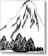Desolation Peak_alone Time Metal Print