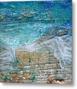 Detail 7 From Rhapsody On The Sea Metal Print