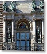 Detail City Hall Hamburg II Metal Print