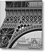Detail Eiffel Tower Metal Print