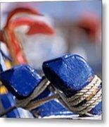 Detail From Fishing Boat Metal Print